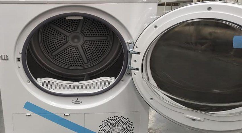 Thiết kế cửa và lồng sấy của Máy sấy quần áo KAFF KF-DR10EU